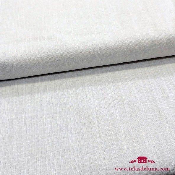 Tela blanca tramada ideal confección IV