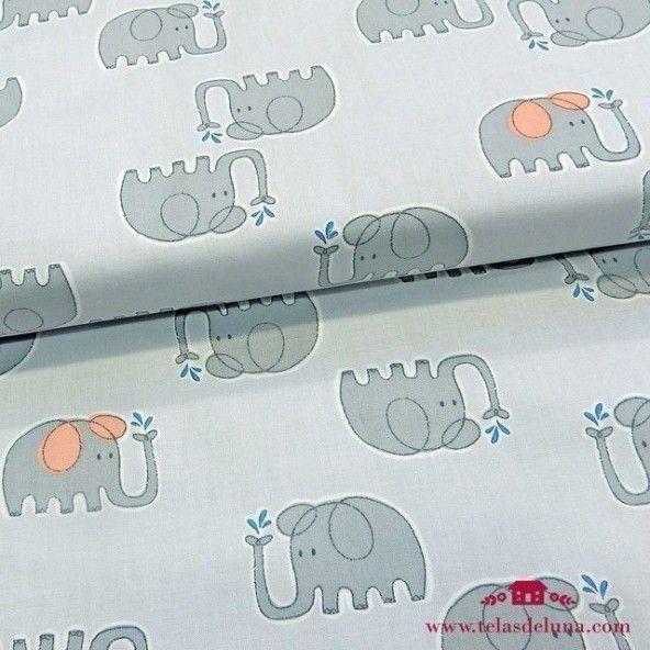 Tela organica elefantes
