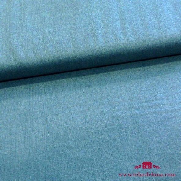 Tela azul grisaceo