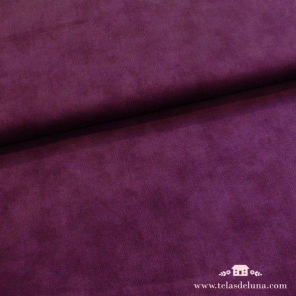Tela marmoleada violeta lisa