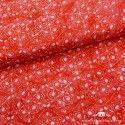 Viscosa batik azalea roja