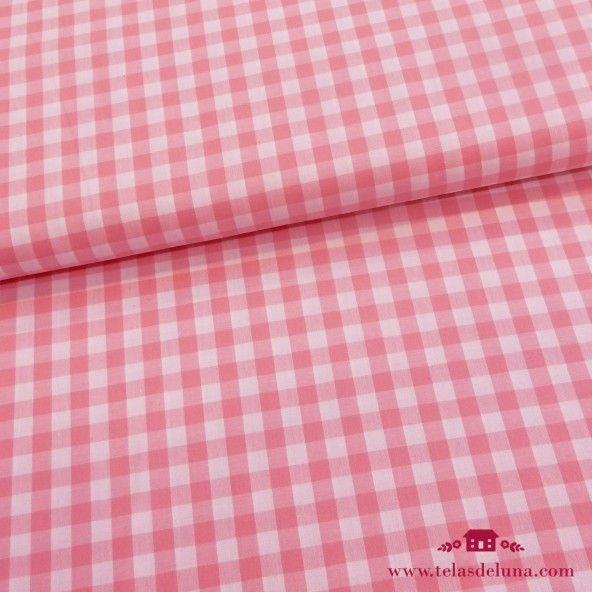 Tela vichy rosa
