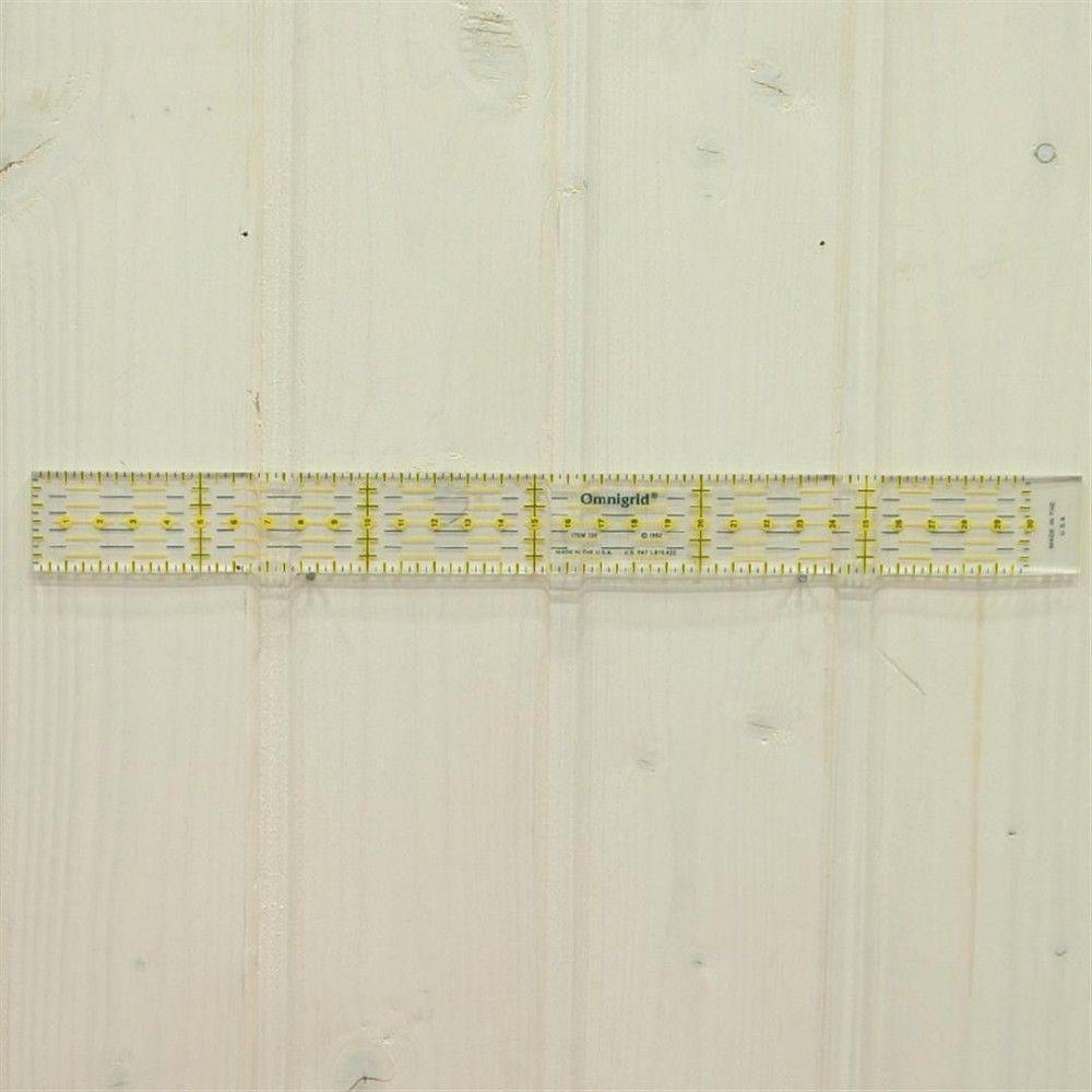 Regla 3x30 cm.