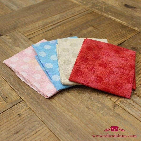 Fat quarters topos claros