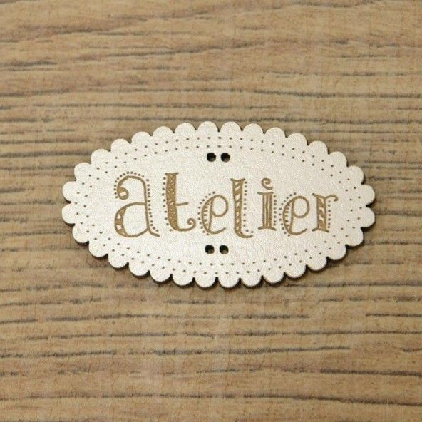 Botón decorativo ATELIER