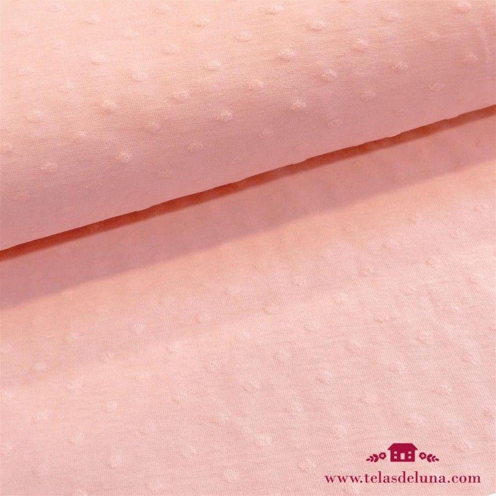Tela jersey minky rosa