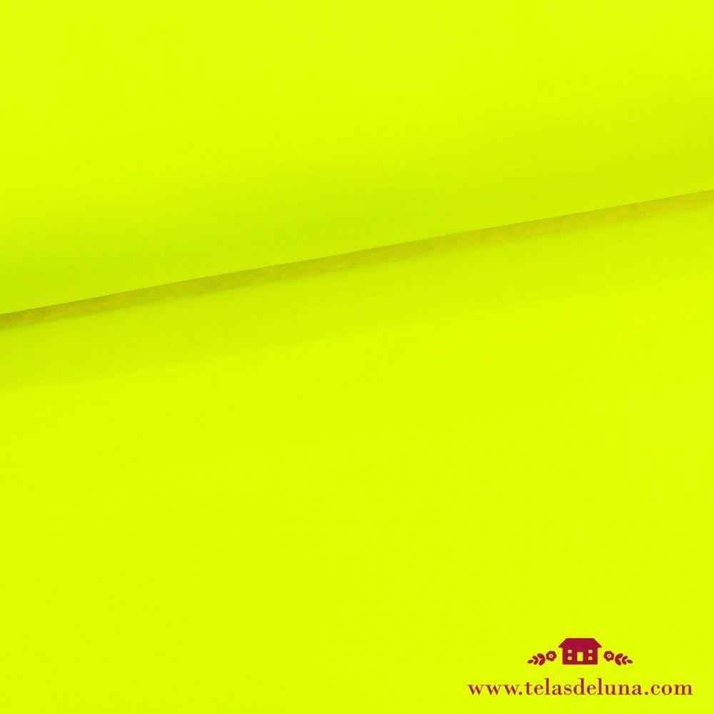 Tela softshell amarillo fluor