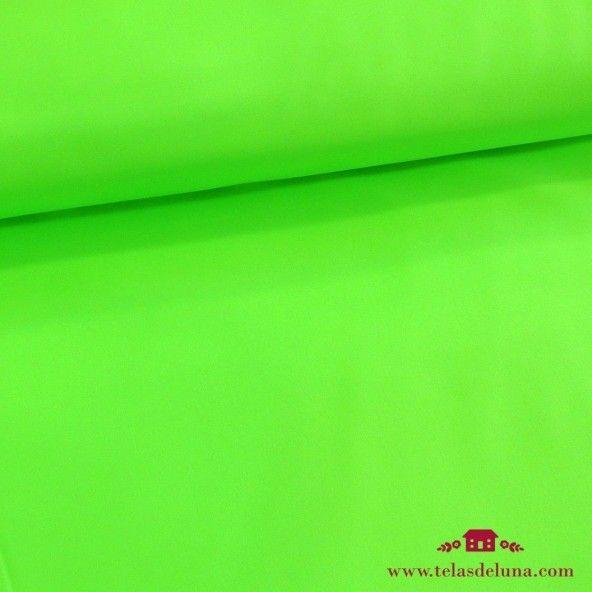 Tela softshell verde fluor