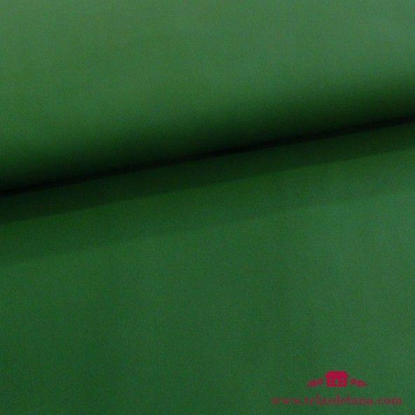 Tela softshell verde botella