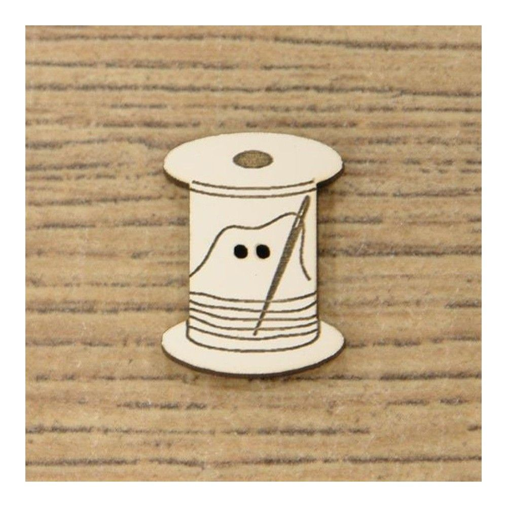 Botón decorativo bobina pequeña