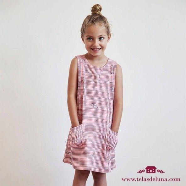 Patrón Vestido verano niña