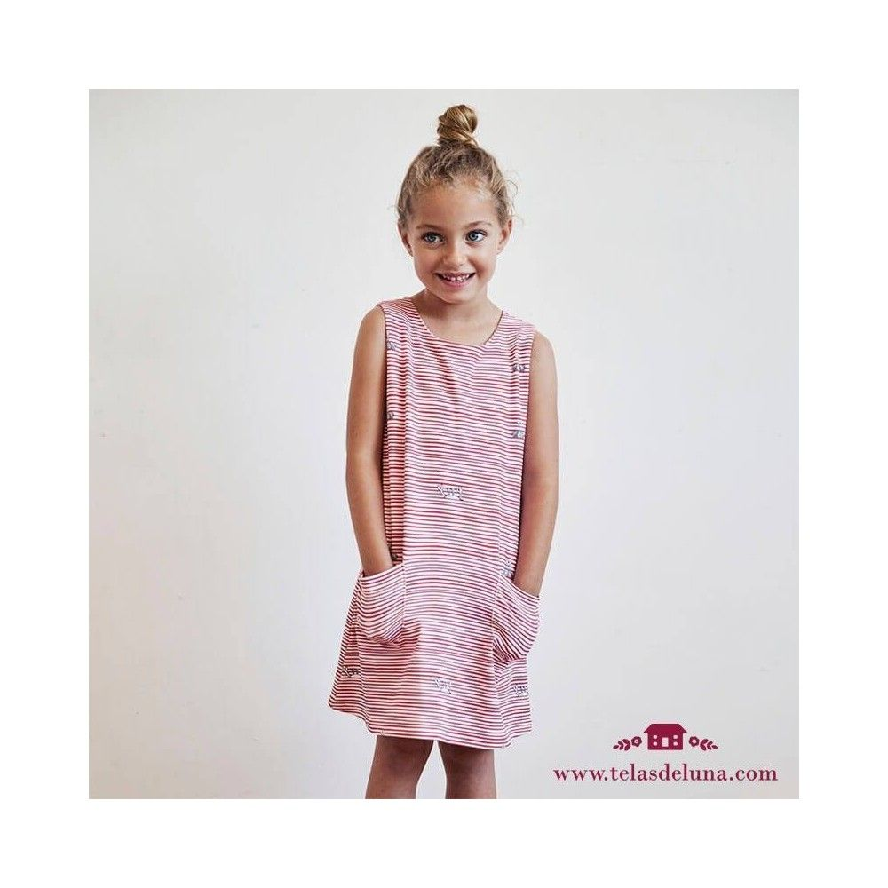 Patron vestido verano niña