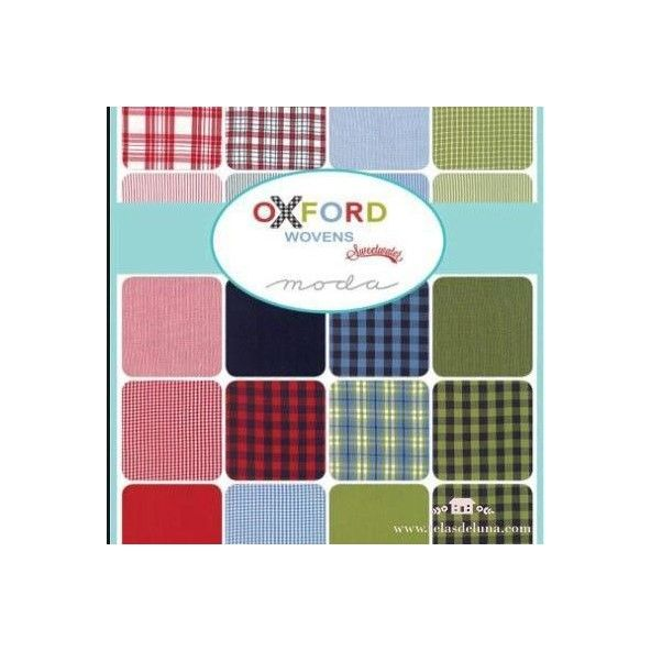 Charm Pack Oxford wovens by sweetwater