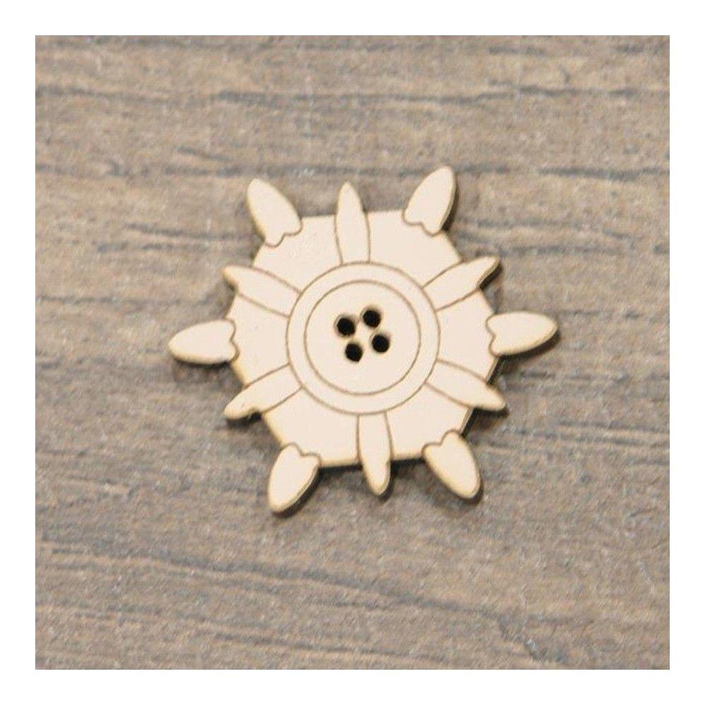 Botón decorativo timón