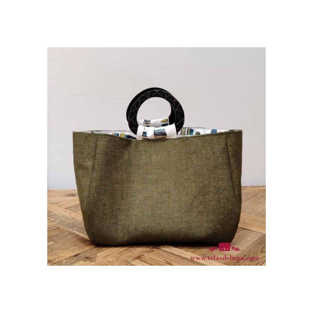 Kit bolsa saco verde