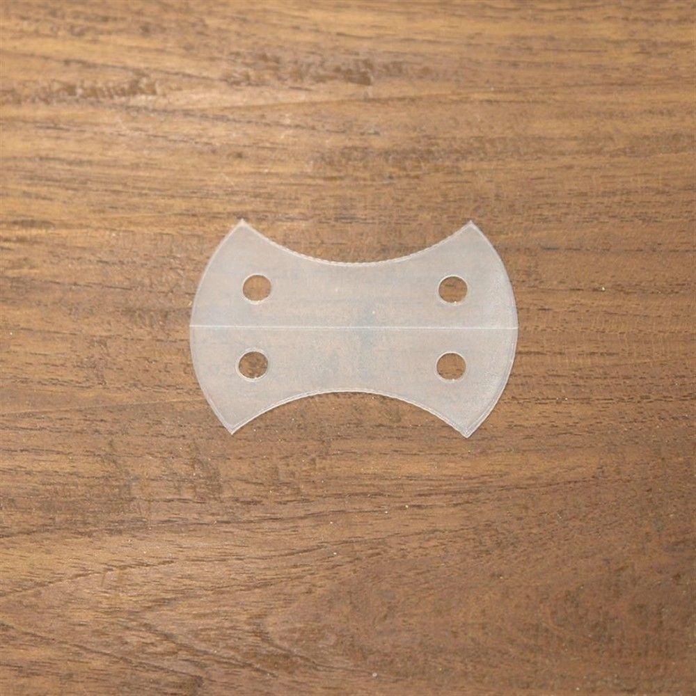 Plantilla corazón de manzana 50 mm. 24 piezas