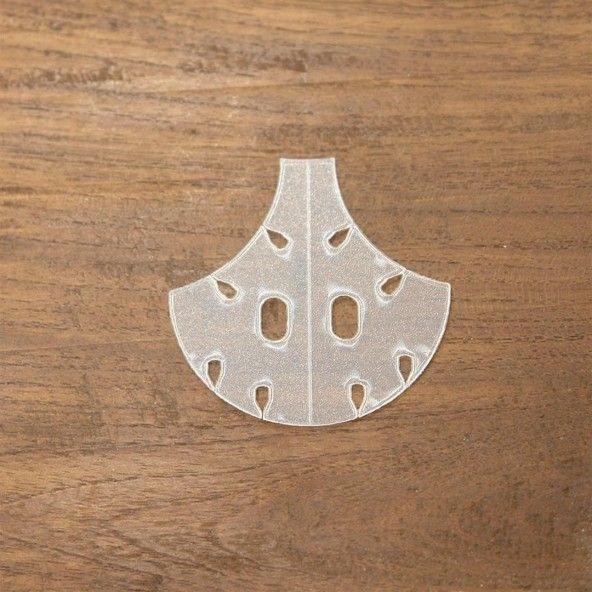 Plantilla teja 50 mm. 24 piezas