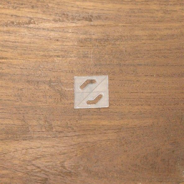 Plantilla cuadrada 19,5 mm. 35 piezas