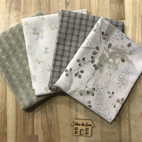 Fat quarter ramilletes marrones