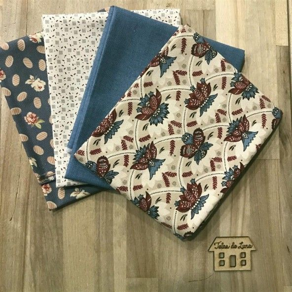 Fat quarter ramajes beige