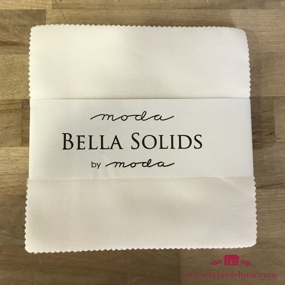 Charm pack Bella Solids