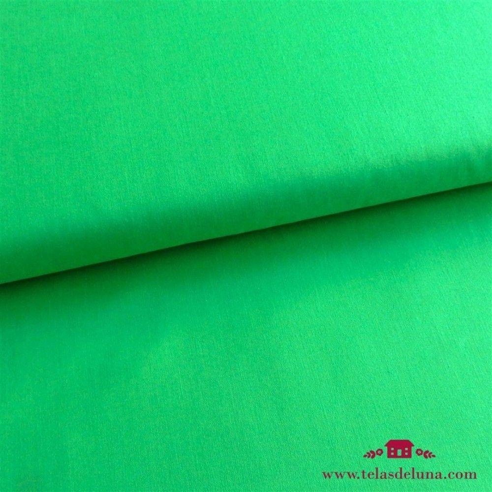 Tela lisa verde manzana