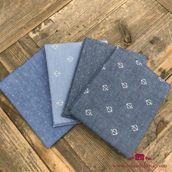 Fat quarters denim marinero