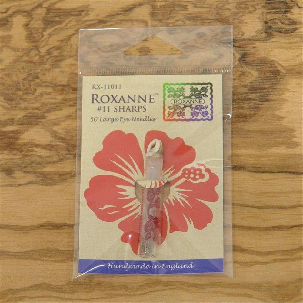 50 Agujas de coser del nº 11 punta afilada Roxanne