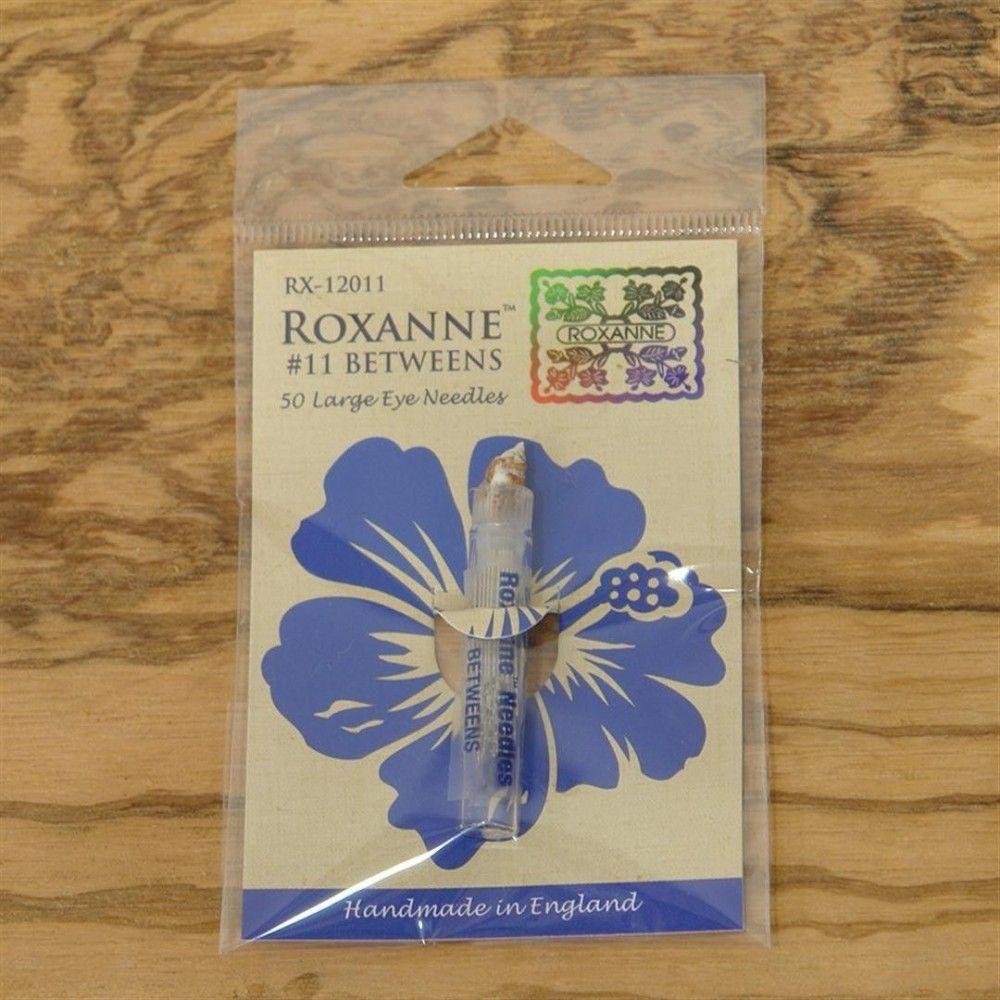 50 Agujas de acolchar del nº 11 Roxanne