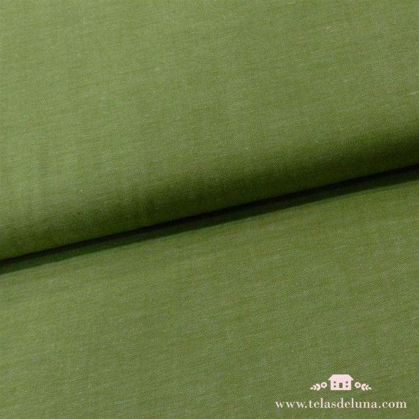 Tela verde manzana