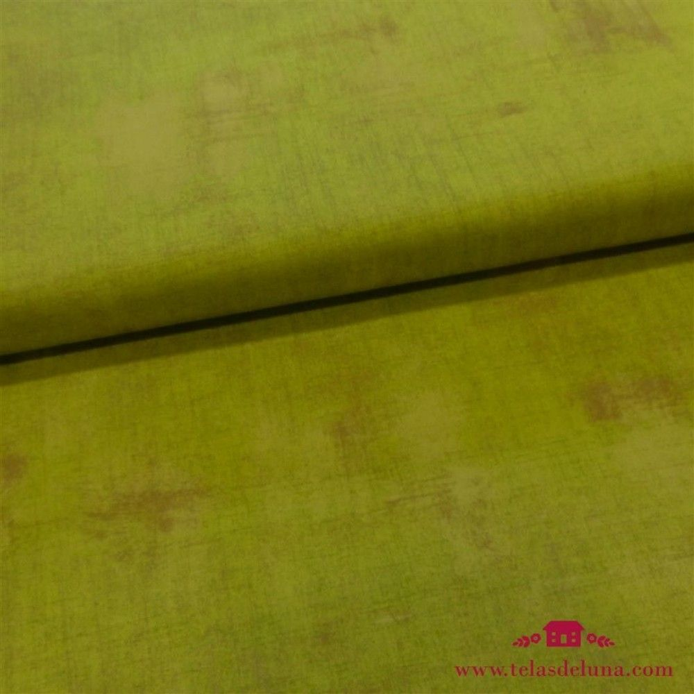 Tela grunge Moda Fabrics verde pistacho