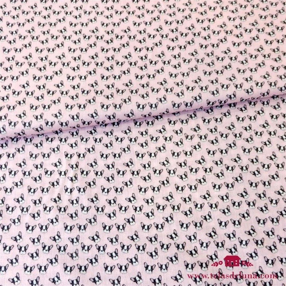 Tela bulldog pink