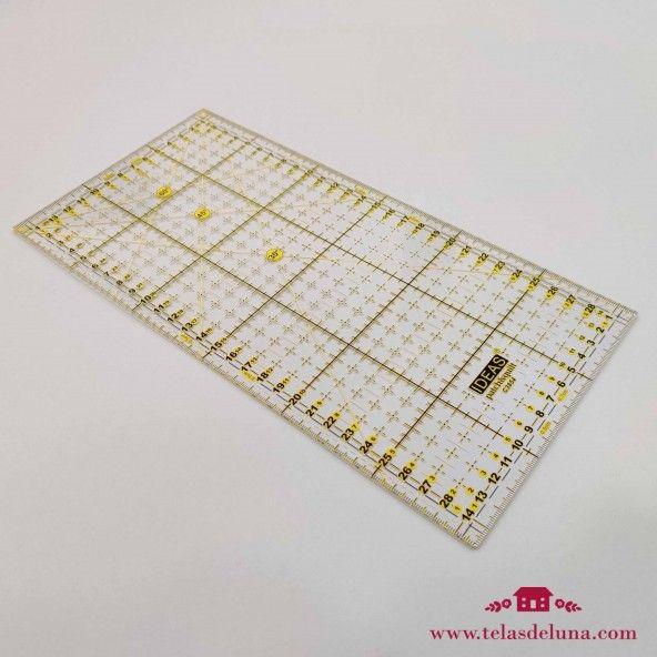 Regla patchwork 30x15 cm