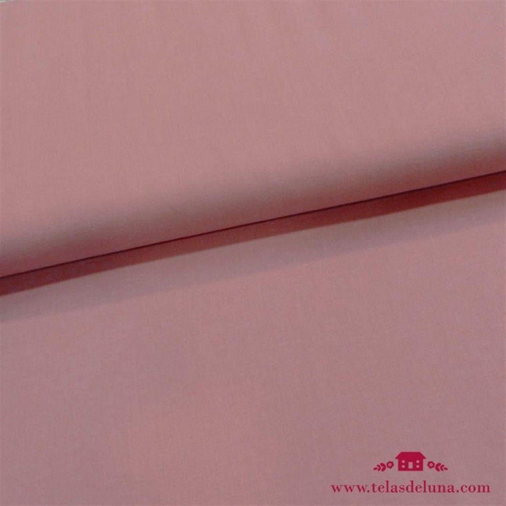 Tela orgánica lisa rosa maquillaje