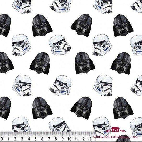 Tela Star Wars blanco