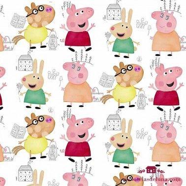 Tela Peppa Pig 150 cm