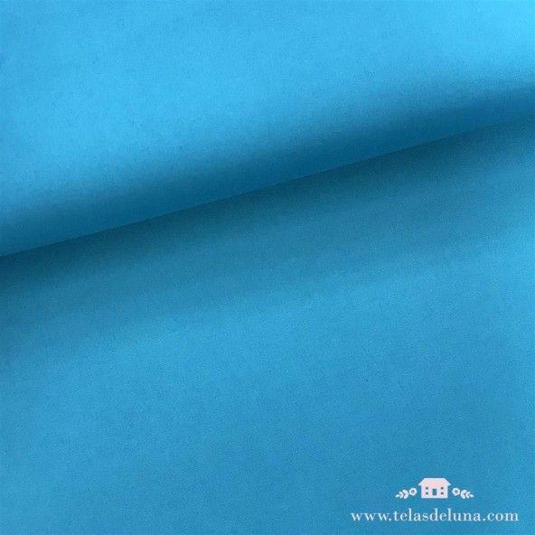 Tela hidrófuga poliéster azul