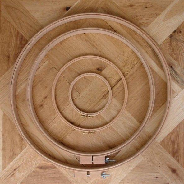 Bastidor redondo madera de haya