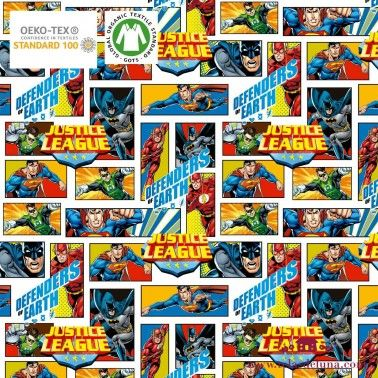 Tela Justice League  DC Comics 150 cm