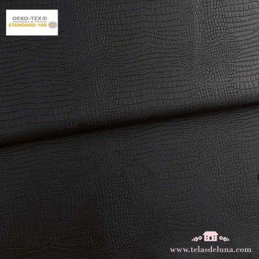 Polipiel cocodrilo negro