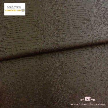 Polipiel cocodrilo marrón