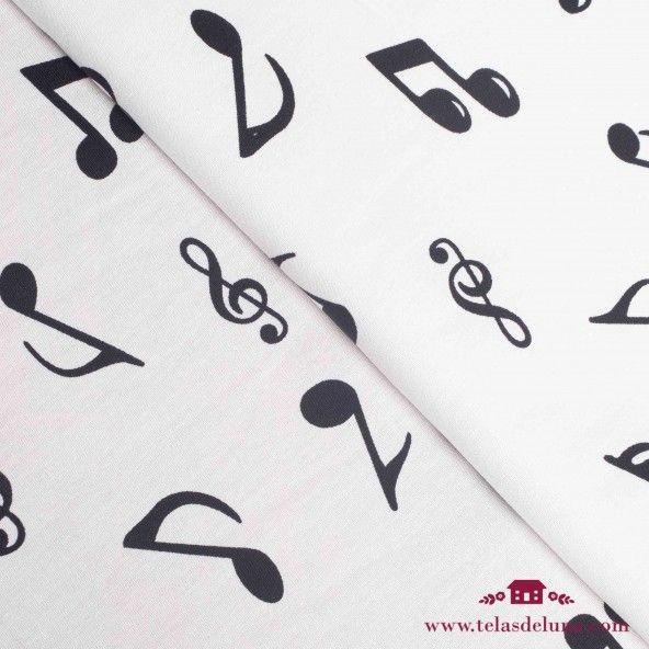 Tela notas de música
