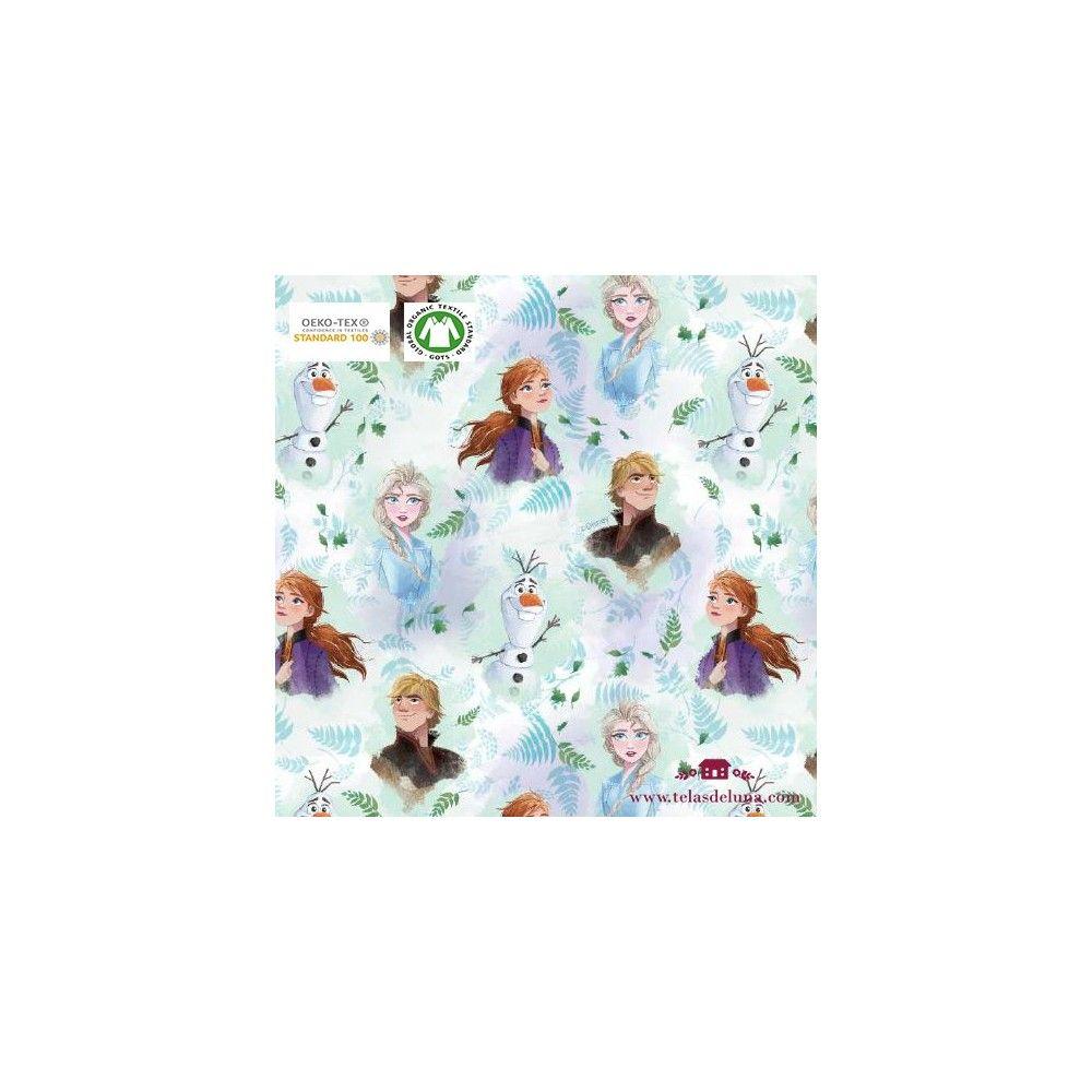 Tela Frozen personajes 150 cm