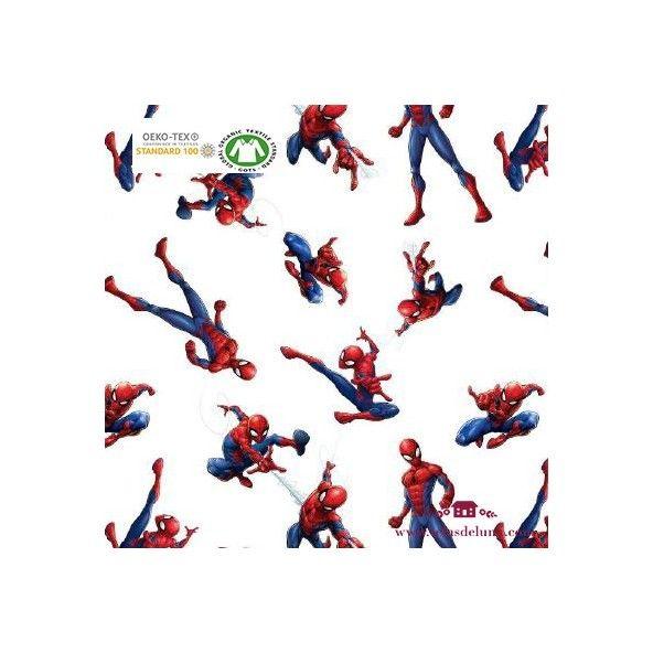 Tela Spiderman superhéroe 150 cm