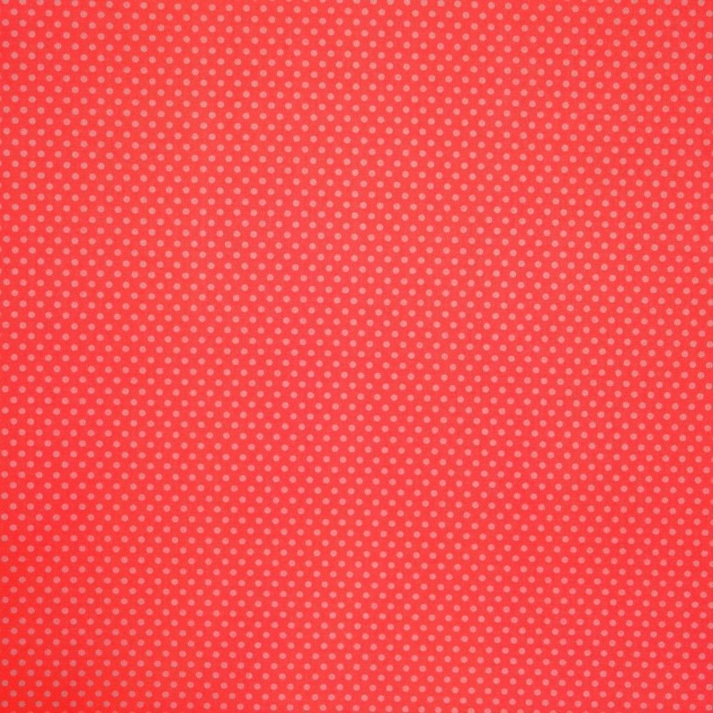 Tela topo beige fondo rojo