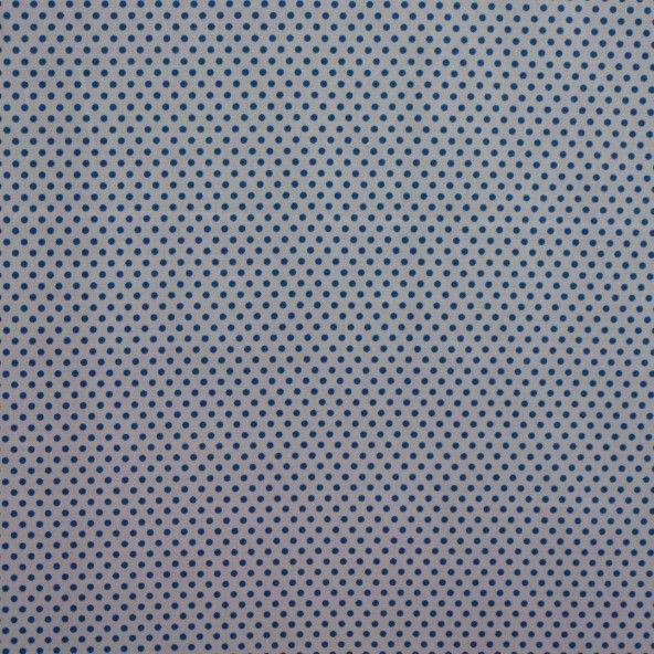 Tela topo azul fondo gris