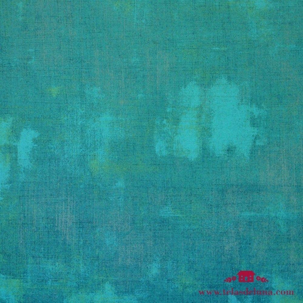 Tela vintage azul turquesa oscuro