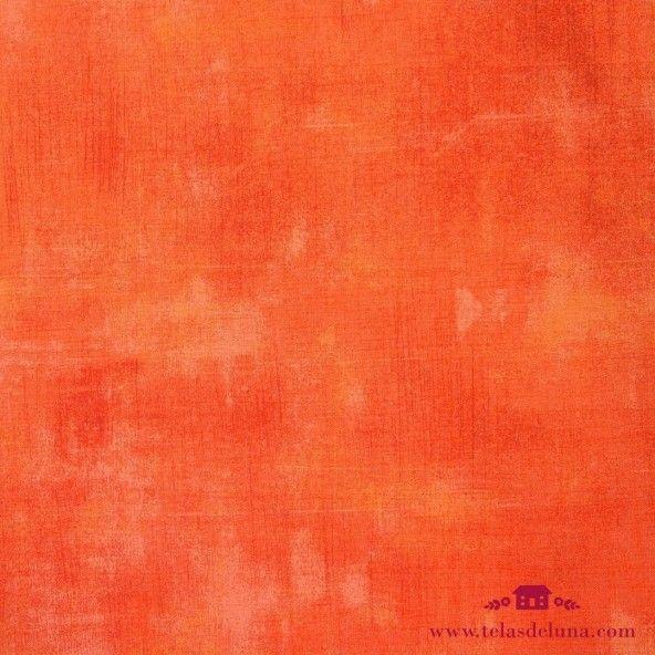 Tela vintage rojo oxido claro