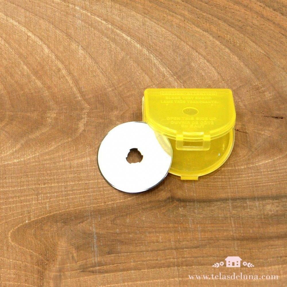 Cuchilla de repuesto para cúter Olfa circular 45 mm
