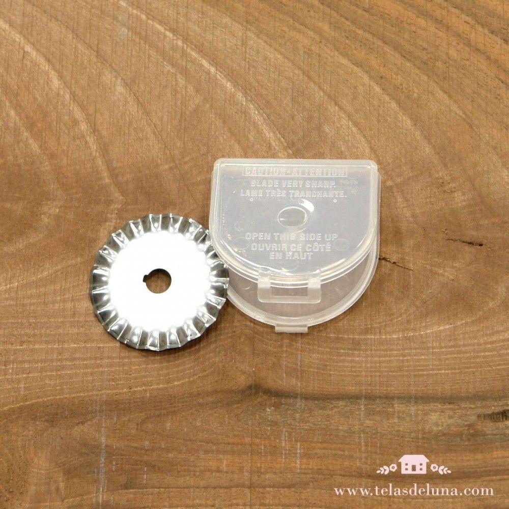 Cuchilla zigzag de repuesto para cúter Olfa circular 45 mm